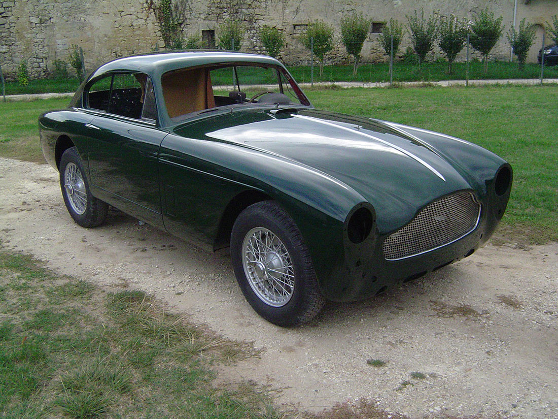 Restauration ASTON MARTIN DB MARK 3 1958