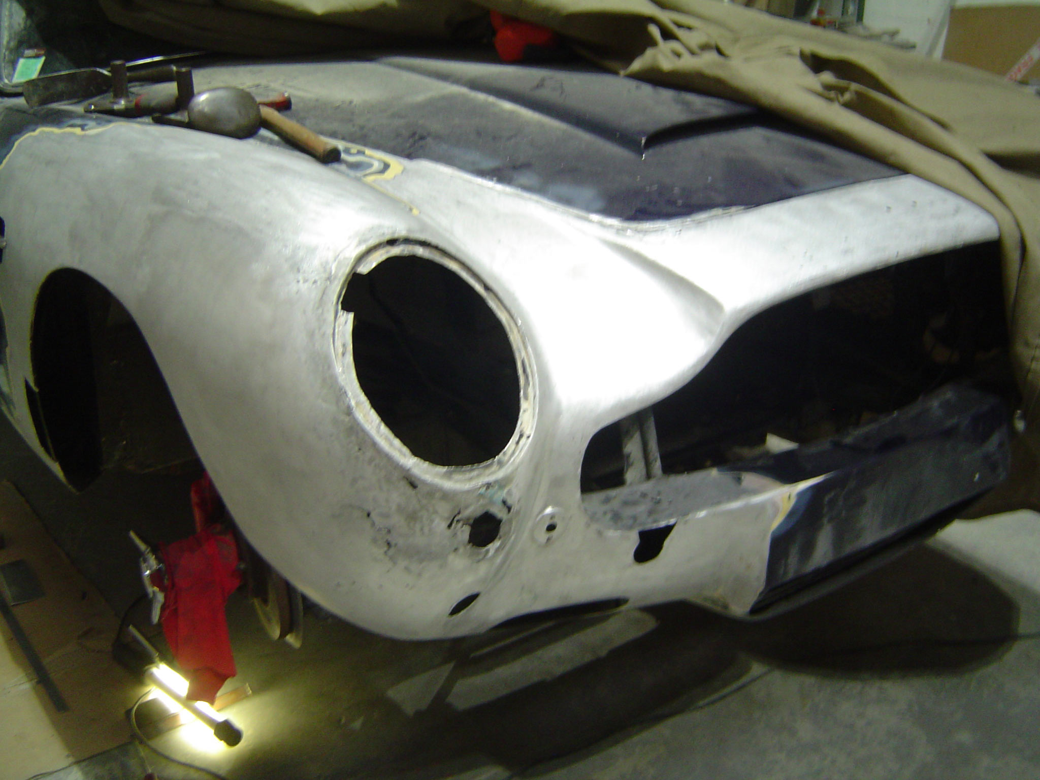 Restauration ASTON MARTIN DB6 1968