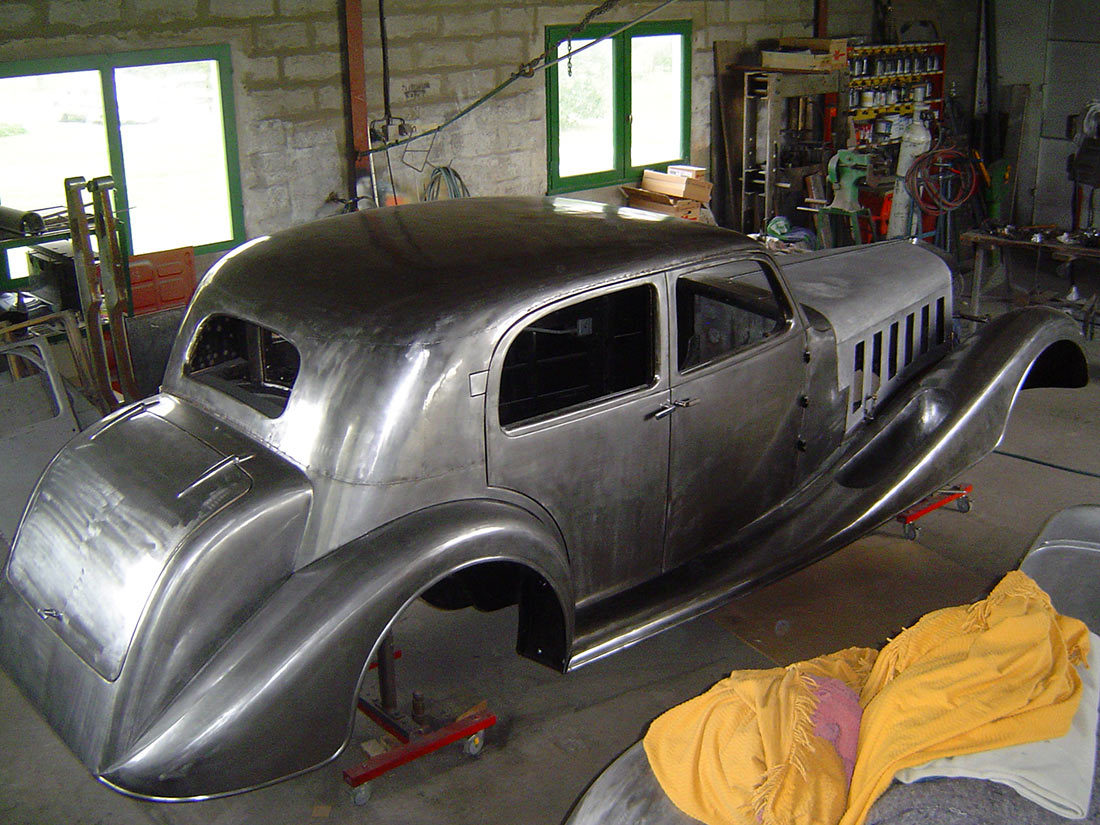 Restauration HISPANO SUIZA