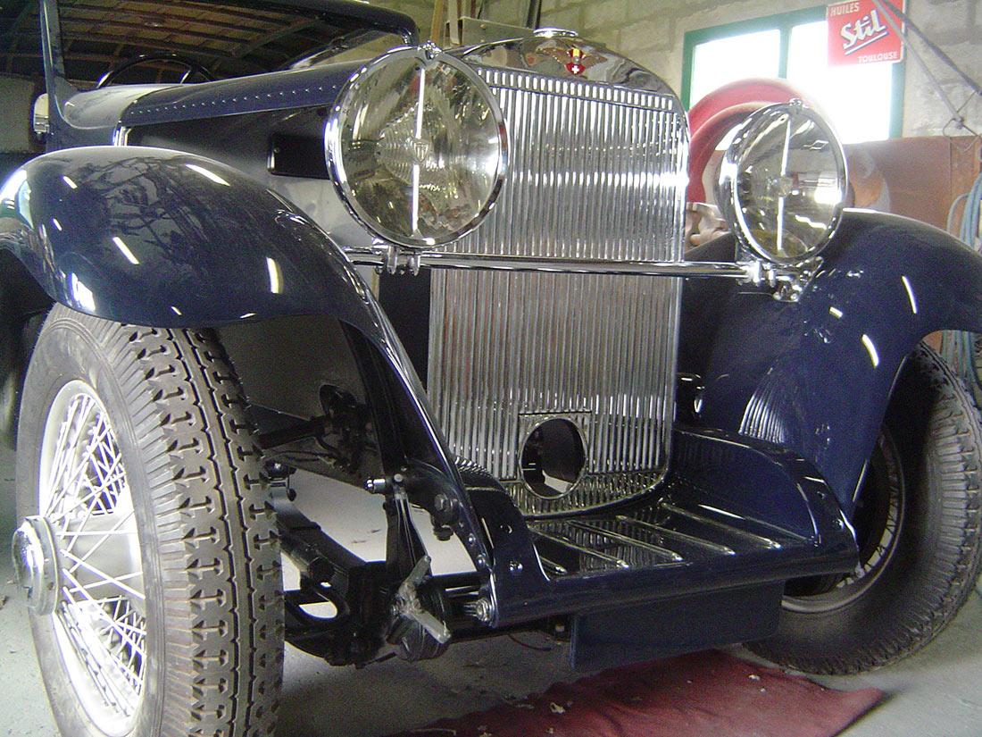 Restauration HISPANO SUIZA J12 1933