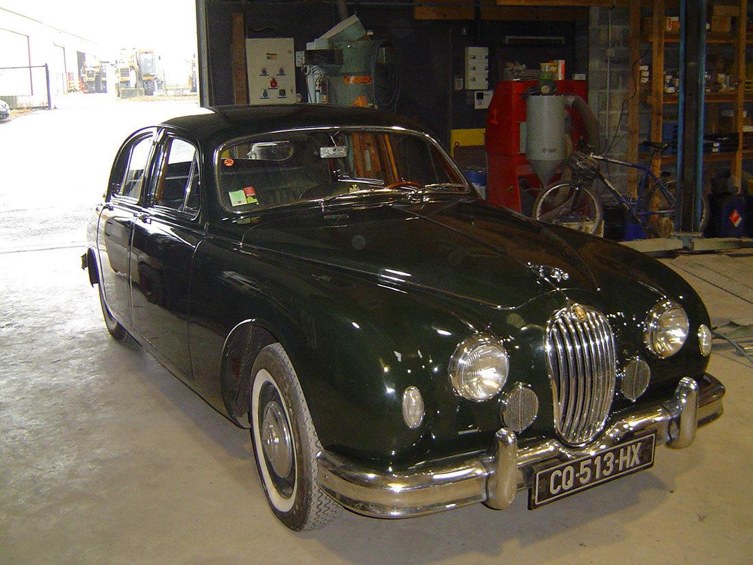 Restauration JAGUAR MK1 1957