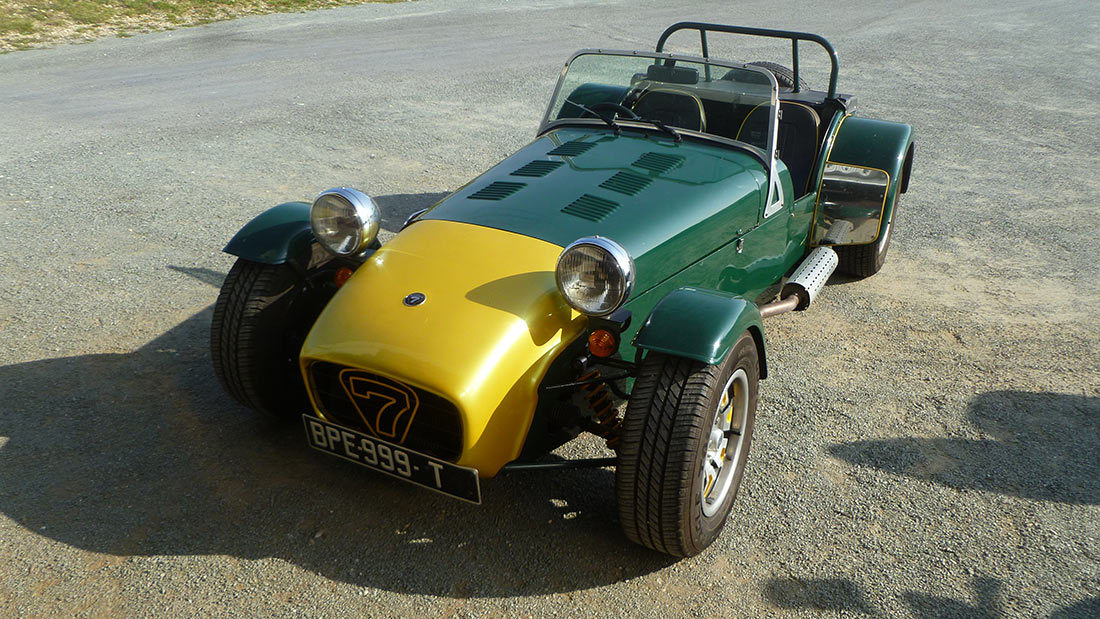Restauration LOTUS SUPER SEVEN 1973