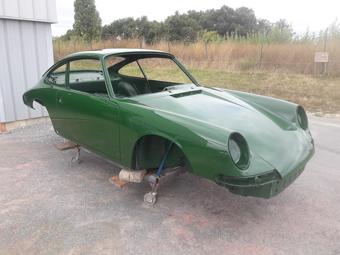 Restauration PORSCHE 911 COUPE 1968